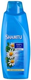 """Шампунь Shamtu """"100% Объем"""" с экстрактом ромашки для нормальных волос"""