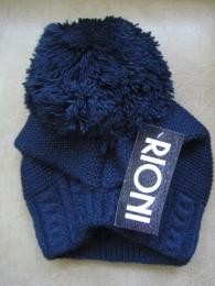 Шапка зимняя с помпоном Rioni MR 22314