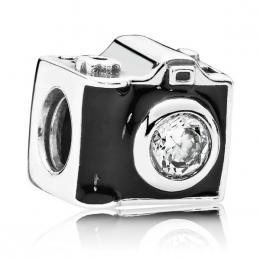 "Шарм-подвеска Pandora ""Фотоаппарат"" арт. 791709CZ"