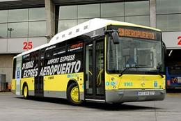 Автобус-экспресс из аэропорта Барахас в Мадрид (Испания)