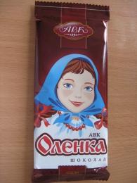 "Шоколад АВК ""Оленка"""