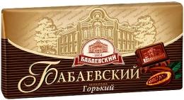 "Шоколад Бабаевский ""Горький"""