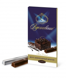 """Шоколад Бабаевский """"Вдохновение"""" горький Шоколадный брауни Mini Desert Dark"""