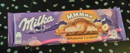 Шоколад Milka Wholenut Caramel