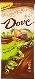 Шоколад молочный Dove Груша и вафля