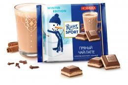 "Шоколад молочный Ritter Sport ""Пряный чай-латте"""