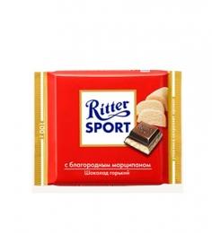 Шоколад Ritter Sport горький с благородным марципаном