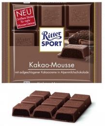 Шоколад Ritter Sport Kakao-Mousse