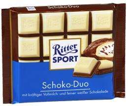 Шоколад Ritter Sport Schoko-Duo