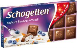 "Шоколад ""Trumpf"" Schogetten Yoghurt-Blueberry-Muesli"