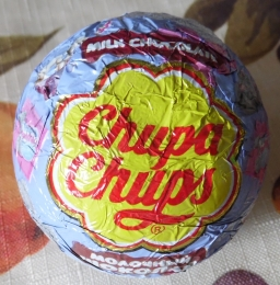 Шоколадное яйцо Chupa Chups