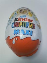 Шоколадное яйцо Kinder Surprise Maxi
