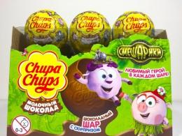 "Шоколадный шар с сюрпризом Chupa Chups ""Смешарики"""