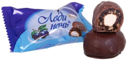 """Шоколадные конфеты Акконд """"Леди Ночь с черносливом"""""""