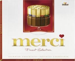 """Шоколадные конфеты """"Merci"""" ассорти"""