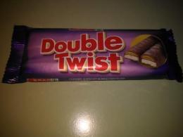 """Шоколадный батончик Double Twist """"Spar"""""""