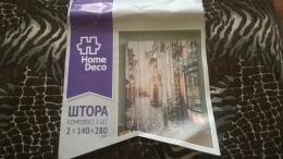 Штора с фотопринтом Home Deco HDFP008 Комплект 2 шт