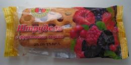Штрудель «Первый хлебокомбинат» с фруктовым вкусом