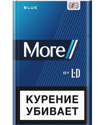 Сигареты More by LD blue