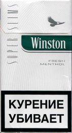 Сигареты Winston Super Slims Fresh Menthol