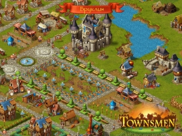 Симулятор Townsmen для Android