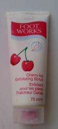 Скраб для ног Avon Cherry Ice Exfoliating Scrub