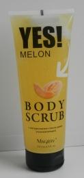 Скраб для тела YES! Melon с натуральным соком дыни, увлажняющий