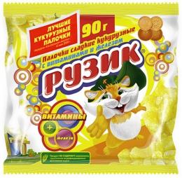 """Сладкие кукурузные палочки """"Рузик"""""""