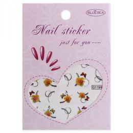 """Слайдер дизайн """"Nail sticker just for you"""" Bluesea № G119"""