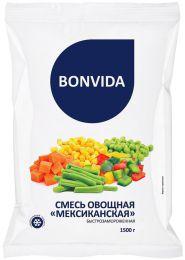 """Смесь овощная """"Мексиканская"""" быстрозамороженная Bonvida"""
