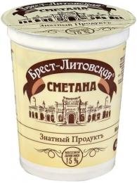 """Сметана """"Брест-Литовская"""", 15%"""