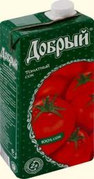 "Сок ""Добрый"" томатный"