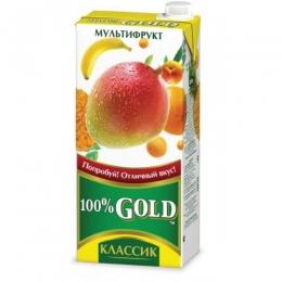 Сок Gold Классик мультифрукт