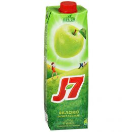 Сок J-7 Яблоко осветлённое