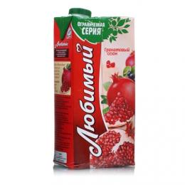 """Сок """"Любимый сад"""" Гранатовый сезон"""
