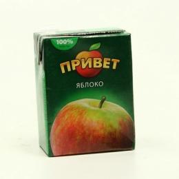 """Сок Лебедянский """"Привет"""" яблоко"""