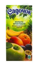 """Нектар """"Садочок"""" мультифруктовый витаминизированный с мякотью"""