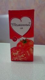"""Сок """"Тандер"""" томатный"""