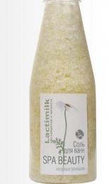 """Соль для ванн Lactimilk  Spa Beauty """"Наслаждение и мягкость"""" медовая ромашка"""