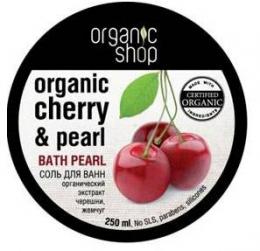 """Соль для ванн Organic Shop """"Кенийская черешня"""""""
