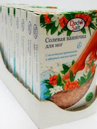 Солевая ванночка для ног Doctor Salt с молочными протеинами и эфирным маслом нероли