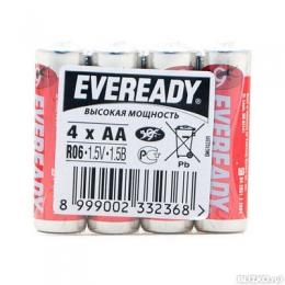Солевые батарейки Eveready Heavy Duty