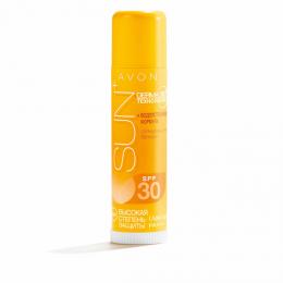 Солнцезащитный бальзам Avon SUN+ для губ, носа и ушей SPF30