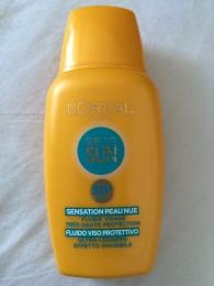 Солнцезащитный крем-флюид L'Oreal Sublime Sun Face SPF 50