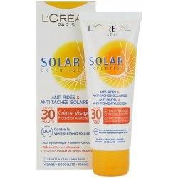 Солнцезащитный крем L'Oreal Solar Expertise Anti-Rides Anti-Taches SPF 30