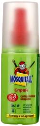 """Спрей Mosquitall """"супер актив защита"""" до 8 часов от укусов комаров, мошек, слепней"""