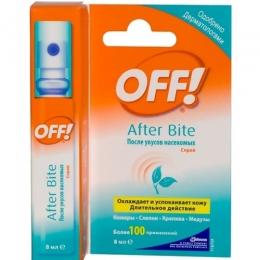 Спрей Off! после укусов насекомых