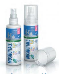 Спрей от комаров Mosquitall «Нежная защита для детей. Для прогулок»