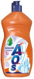 Средство-бальзам для мытья посуды ''АОS'' с витамином Е