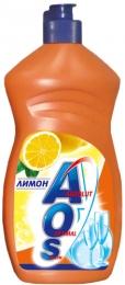 Средство для мытья посуды AOS лимон